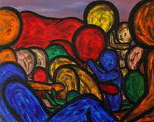 Francesco RUSPOLI - Pintura - The secret beteen us    (Cat N° 5393)