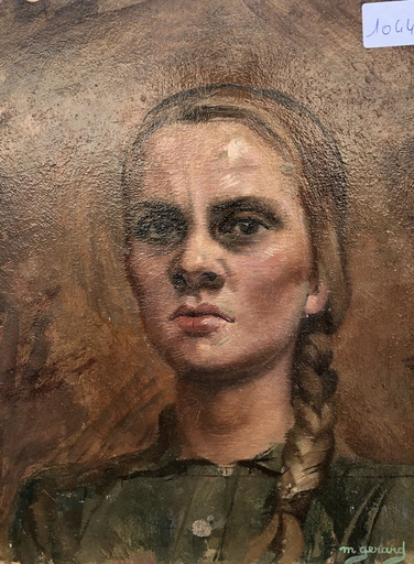 Maud GERARD - Gemälde - Portrait