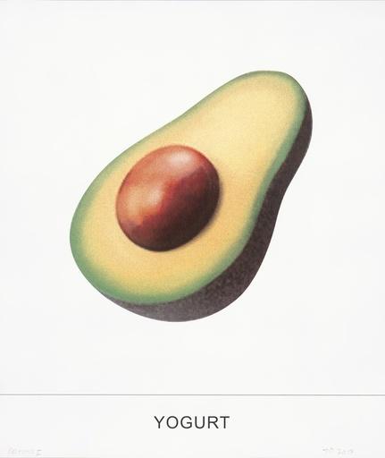 John BALDESSARI - Estampe-Multiple - Yogurt