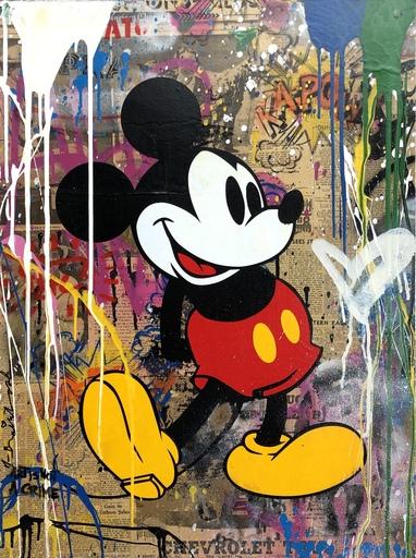 MR BRAINWASH - Pintura - Mickey