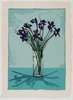 Fritz William SCHOLDER - Estampe-Multiple - Iris  (lithograph)