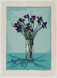 Fritz William SCHOLDER - Print-Multiple - Iris