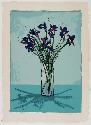 Fritz William SCHOLDER - 版画 - Iris  (lithograph)                                      .