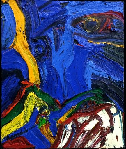 Bengt LINDSTRÖM - Painting - Frejas dröm