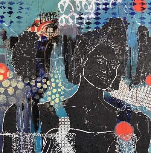 Marita TOBNER - Painting - Make more noise