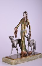 Otto POERTZEL - Escultura - Medieval Lady