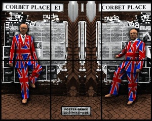 GILBERT & GEORGE, Poster Dance