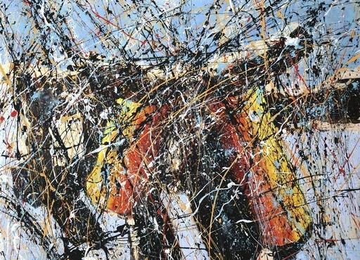 Jean-Jacques MARIE - Gemälde - Composition A407