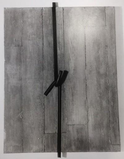 Giuseppe UNCINI - Painting - Muri di cemento n. 140