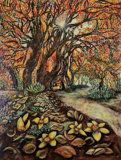 Marie BALDOVINI - Painting - Passage