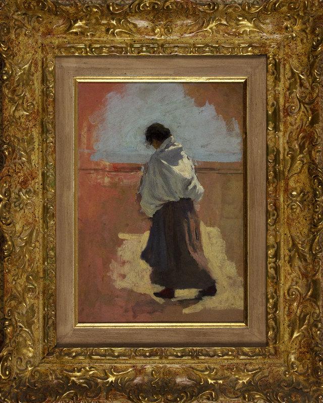 Giuseppe DANIELI - Painting - Figura