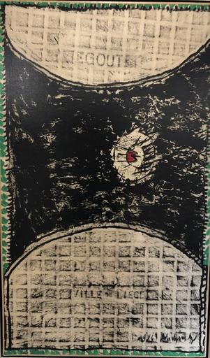 Pierre ALECHINSKY - Pintura - Ether et Terre, Liege