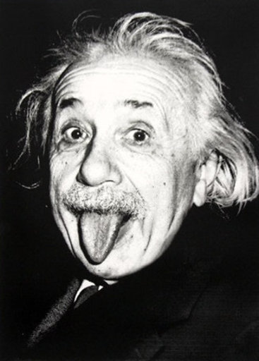 MR BRAINWASH - Grabado - Happy Birthday Einstein