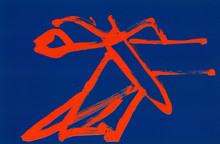 DI SUVERO Mark - Estampe-Multiple - Rimbaud (lithograph)
