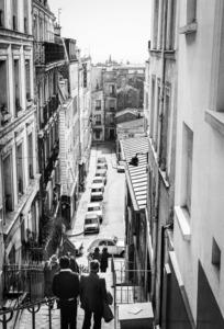 Robbert Frank HAGENS - Photography - Stairs - Montmartre, Paris 1976 4/25