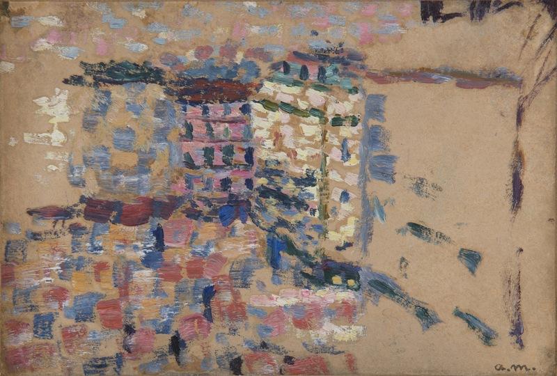 Albert MARQUET - Pittura - Rue Monge à Paris