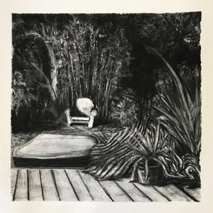 Marie DONNEVE - Drawing-Watercolor - « Côté jardin »
