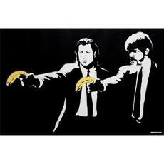 BANKSY - Estampe-Multiple - Pulp Fiction