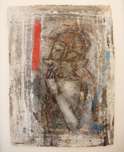 James COIGNARD - Pintura - Buveuse de thé
