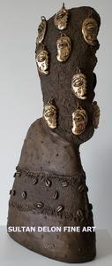 Manuel MENDIVE - Sculpture-Volume - Rostro