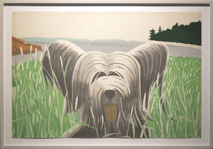 Alex KATZ, Dog at Ducktrap