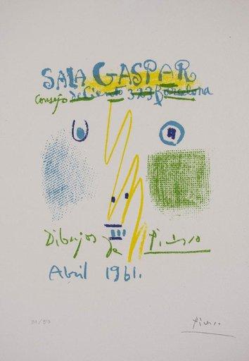 Pablo PICASSO - Stampa-Multiplo - Sala Gaspar