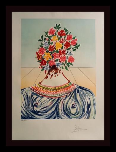 Salvador DALI - Grabado - Retrospective The Flowering of Inspiration
