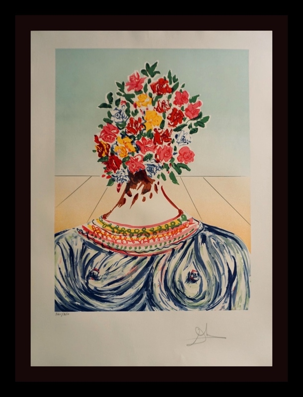 Salvador DALI - Stampa-Multiplo - Retrospective The Flowering of Inspiration