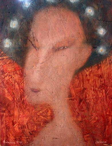 Roman ANTONOV - Peinture - Geisha # 1