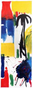 Judith WOLFE - Peinture - L'homme et l'arbre II