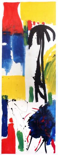 Judith WOLFE - Painting - L'homme et l'arbre II
