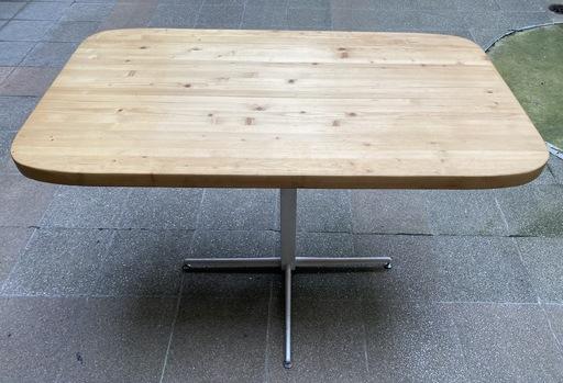 Charlotte PERRIAND - Table (monte et baisse) Les Arcs / Pied vérin