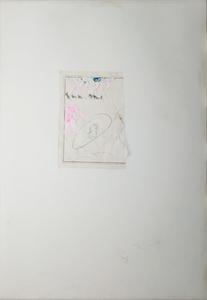 Mario SCHIFANO - Peinture - Ballerine