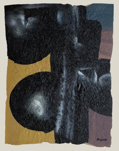 Ladislas KIJNO - Gemälde - Composition abstraite