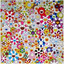 Takashi MURAKAMI - Grabado - Flowers Blossoming in This World and the Land of Nirvana