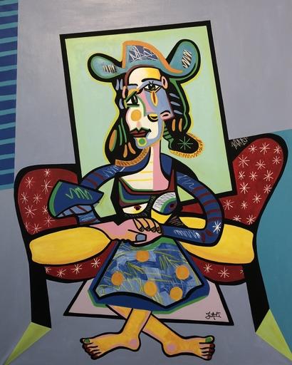 ZAFI - Pittura - Portrait de femme