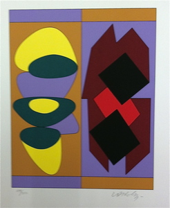 Victor VASARELY - Estampe-Multiple - Ion