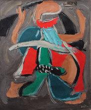 MA Qun - Peinture - Huile REFERENCE N°0353