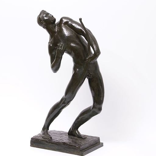 "James VIBERT - Escultura - ""L'archer"""