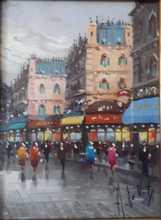Antonio DEVITY - Gemälde - Parigi 1936