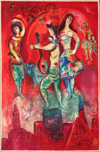 Marc CHAGALL (1887-1985) - Carmen