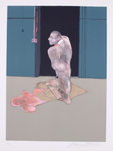 Francis BACON - Stampa Multiplo - Study for a Portrait of John Edwards