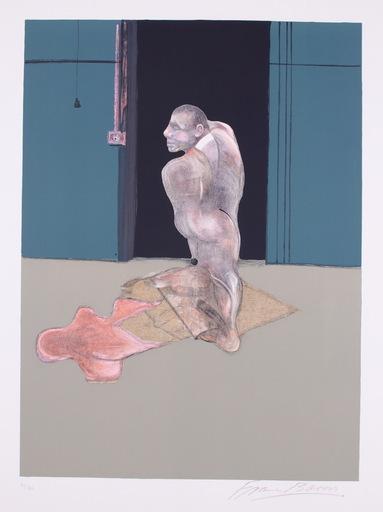 Francis BACON - Grabado - Study for a Portrait of John Edwards
