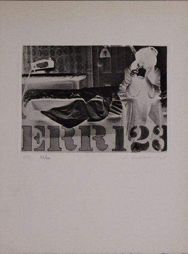 Robert INDIANA - Print-Multiple - Err123
