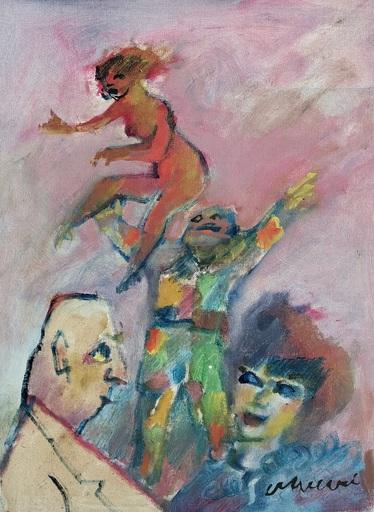 Mino MACCARI - Gemälde