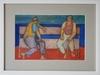 Ivan PETROVSKY - Drawing-Watercolor - Dos frente al Mar