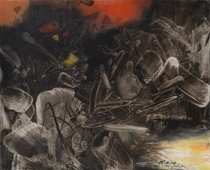 CHU Teh-Chun - Painting - Doigt X