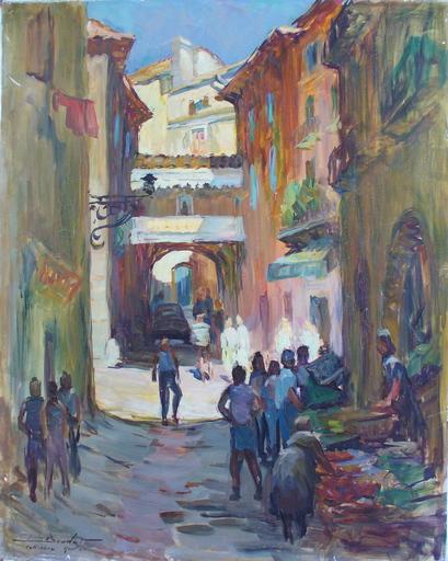 Pierre BOUDET - 绘画 - Rue st Vincent