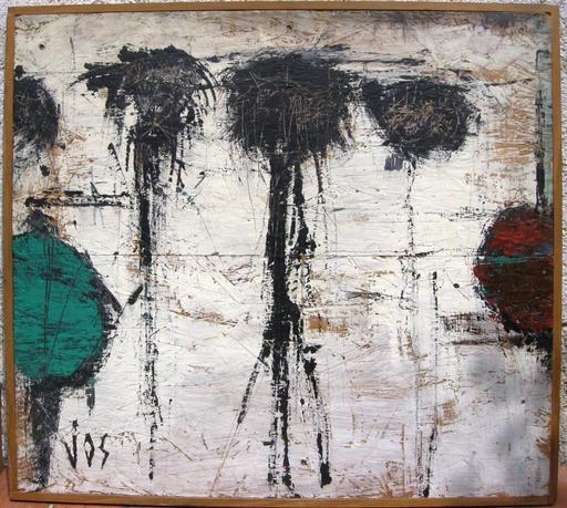Stéphane JOSIFOVSKI - Painting - LES AIEULS