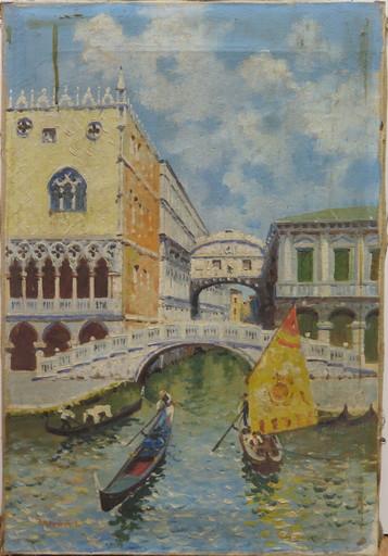 Luigi LANZA - Peinture - VENISE